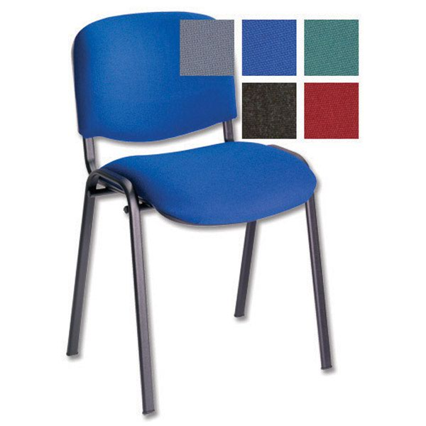 Initiative Stacking Chair Blue