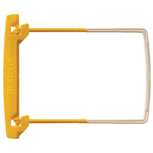 Jalema Clip Yellow/White Pack 100