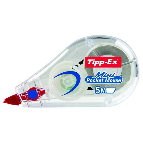 Tipp-Ex Mini Pocket Mouse Correction Tape Pack of 10 812878