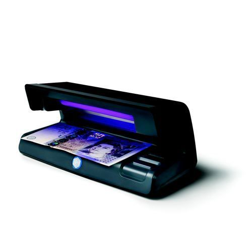Safescan 50 Counterfeit Detector with UV Lamp Black