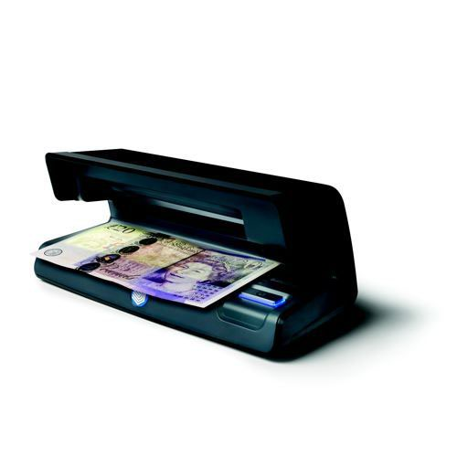 Safescan 70 Counterfeit Detector with UV Lamp & White Light Area Black