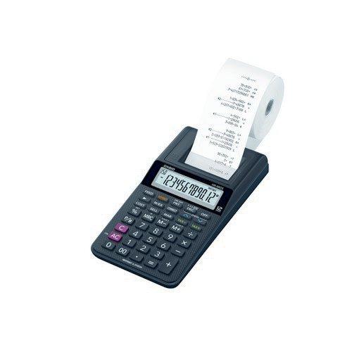 Casio HR-8RCE Printing Calculator Black HR-8RCE-BK-W-EC