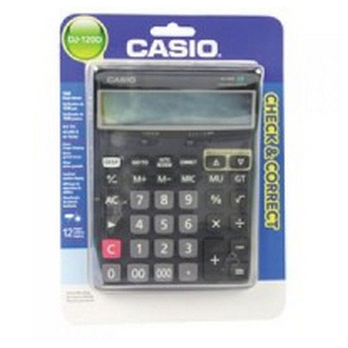 Casio Desktop Calculator DJ-120D-S-EP