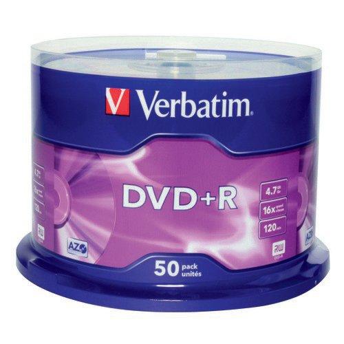Verbatim DVD+R AZO Spindle Pack 50
