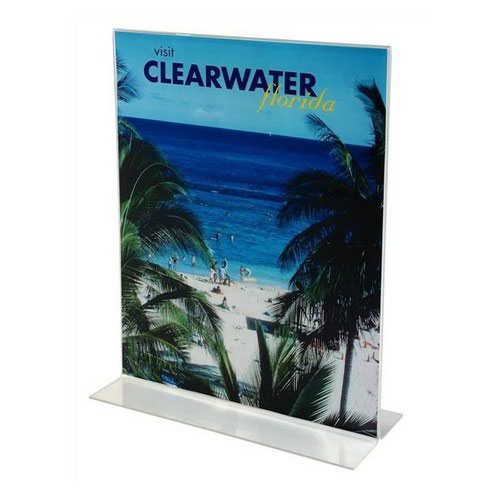 Deflecto Stand Up Sign Holder A5