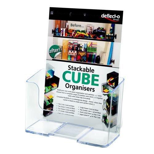 Deflecto Rigid Literature Holder A4