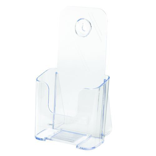 Image for Deflecto 1/3xA4/DL Clear Literature Holder 77501