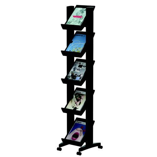 Fast Paper Easy Display Single Sided 5 Wide Black