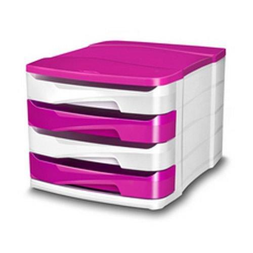 CEP Pro Gloss 4 Drawer Set Pink 394BIGPINK