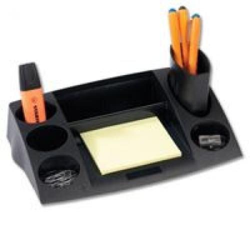 Avery Desktop Range Desk Tidy Black