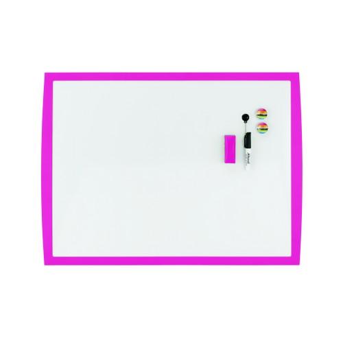 Rexel Joy Whiteboard 585x430mm Pretty Pink