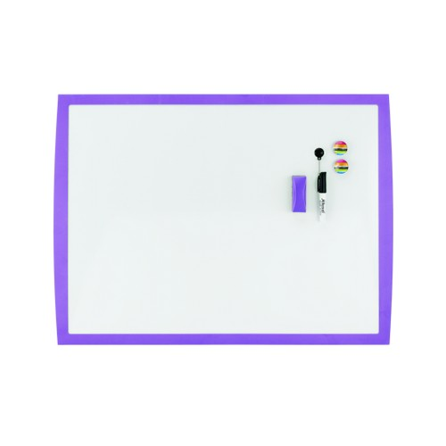 Rexel Joy Whiteboard 585x430mm Perfect Purple