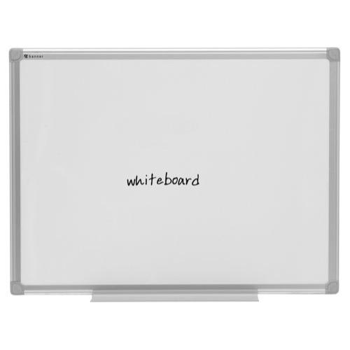 Bi-Office Aluminium Trim 900x600mm Drywipe Board MB0312170