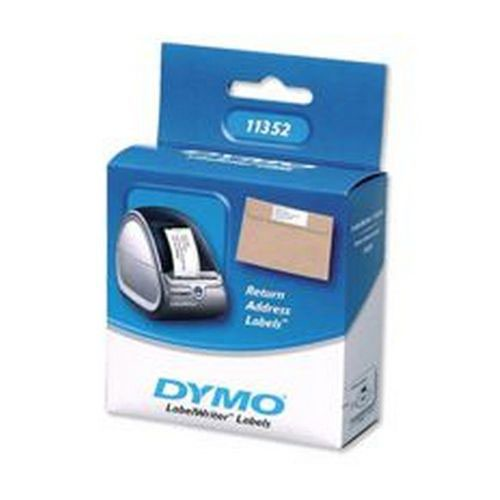 Dymo White LabelWriter Return Address Label 54x25mm (Pack of 500) S0722520