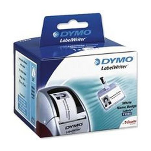 Dymo Labelwriter Name Badge Labels 41x89mm White Pack 300