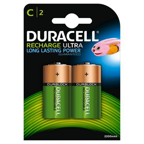 Duracell D Rechargeable NiMH Batteries (Pack of 2) 15038743