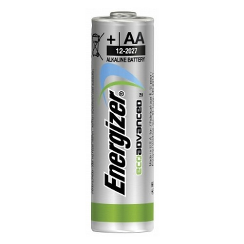 Energizer EcoAdvanced Alkaline AA Batteries E91 (Pack of 8) E300116500