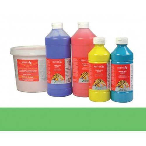 Leaf Green Reeves Redimix Paint 500ml