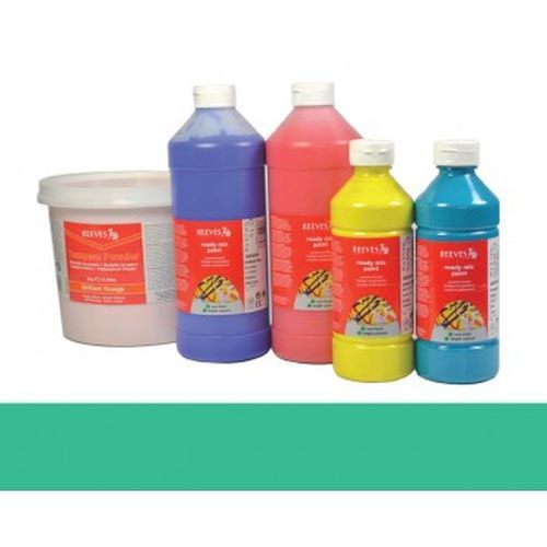 Turquoise Reeves Redimix Paint 500ml
