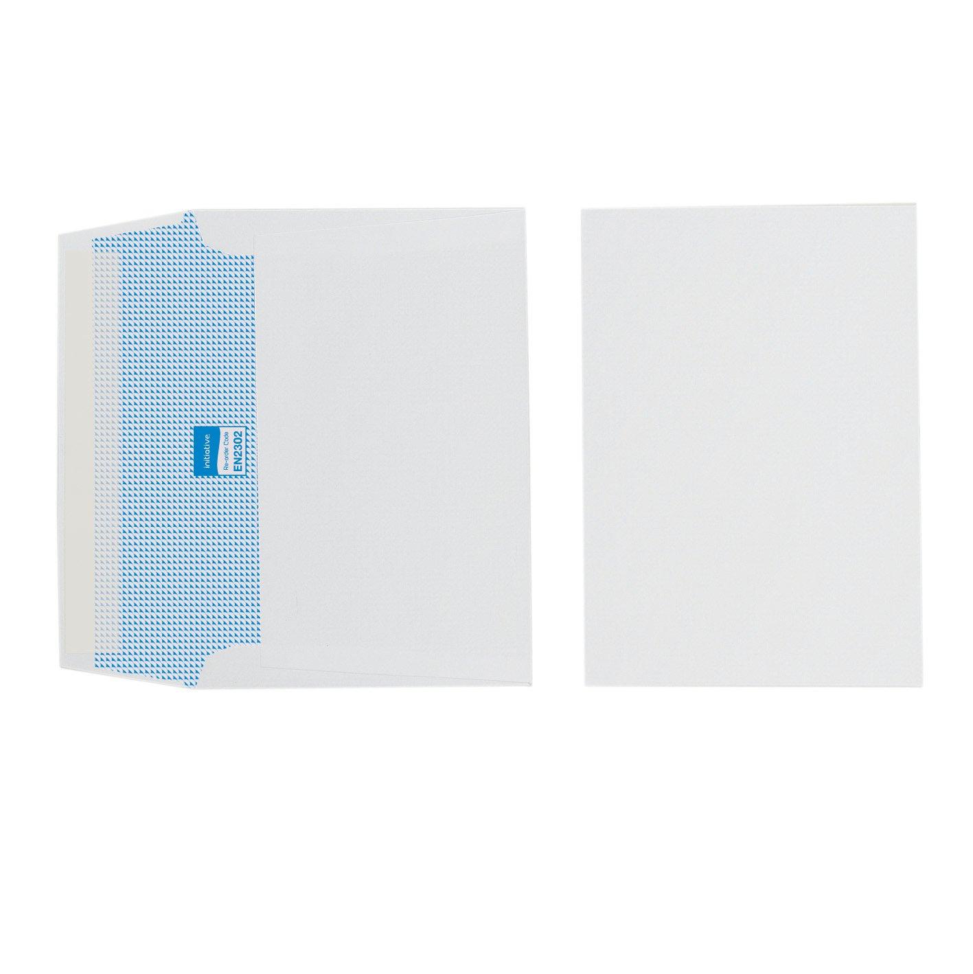 Initiative Envelope C6 Peel n Seal White Pack Pack 1000