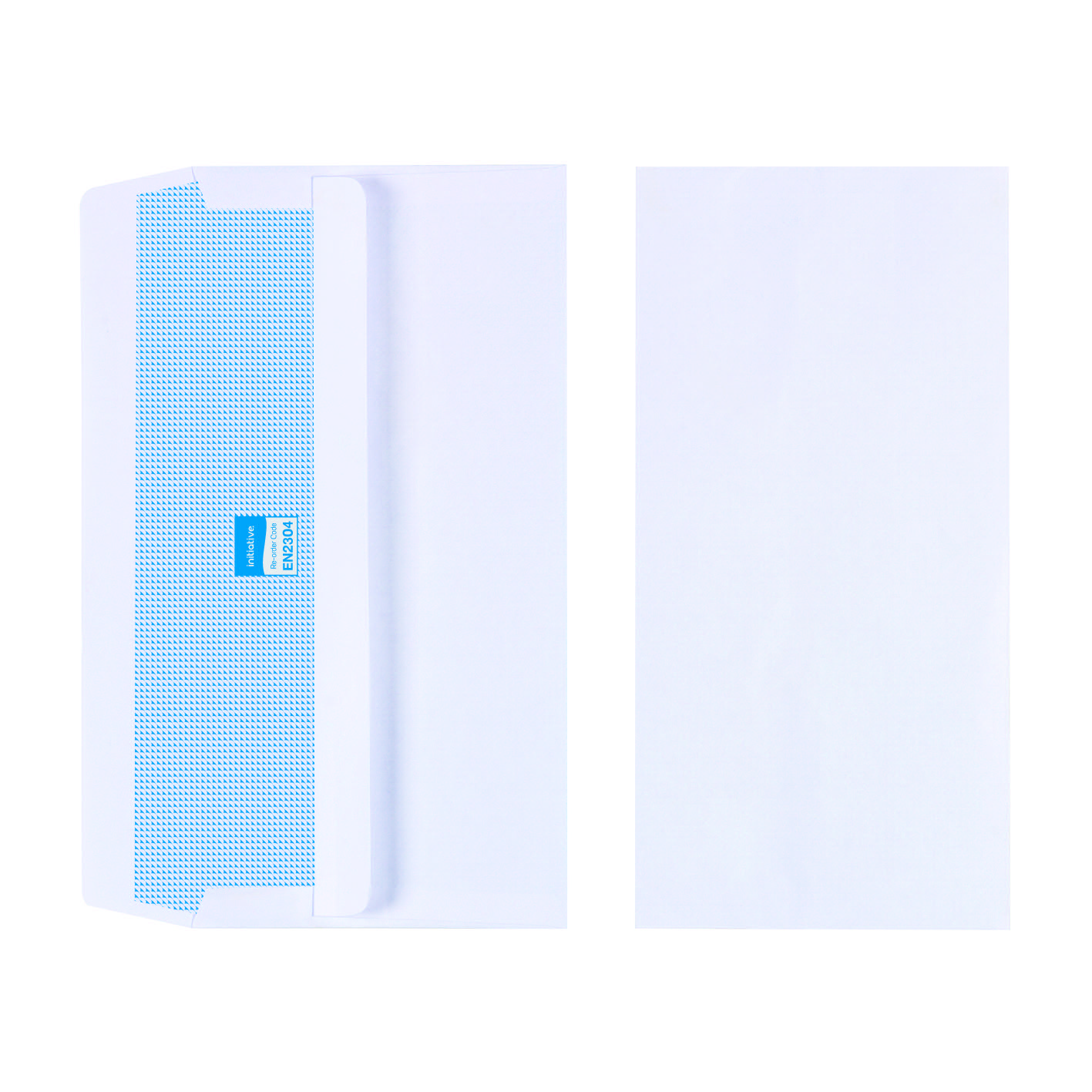 Initiative Envelope DL Self Seal 90gsm White Pack Pack 1000