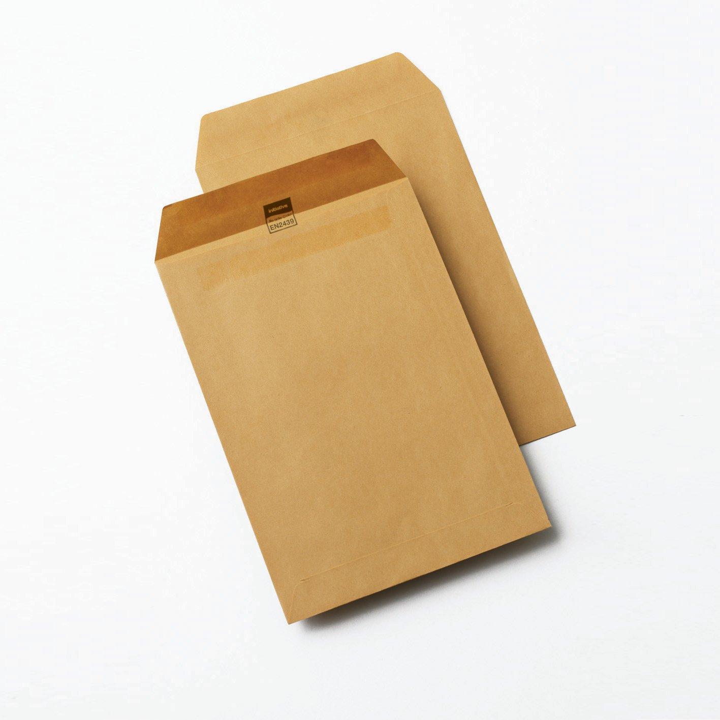 Initiative Envelope C5 Self Seal 80gsm Manilla Pack 500