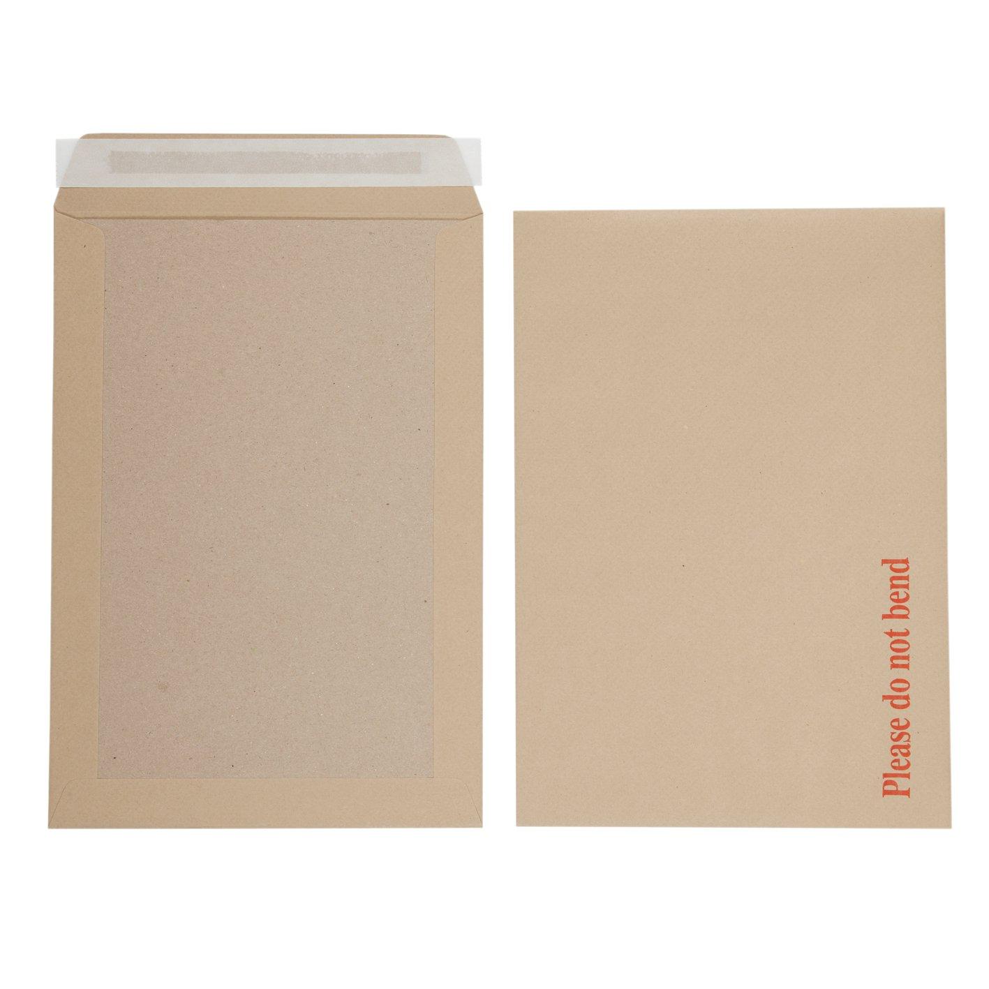 Initiative Envelope Boardbacked Peel n Seal C4 115gsm Manilla Pack 125