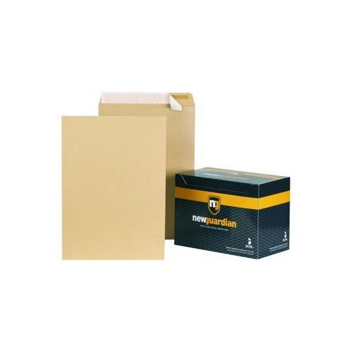 New Guardian Envelope C3 Twin Gummed Pocket 457x324mm 125gsm Manilla Pack 125