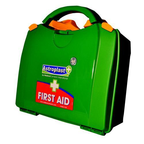 Wallace Cameron 10 Person First Aid Kit Green Box