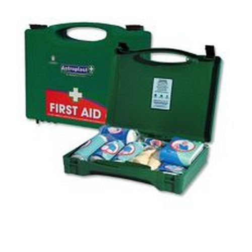 Wallace Cameron 20 Person First Aid Kit Green Box