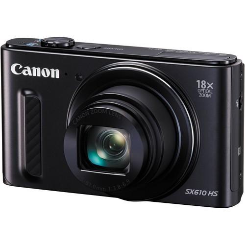 Image for )Canon Powershot SX610 HS black