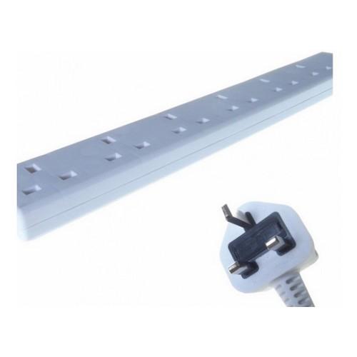 Connekt Gear UK 6-Gang Mains Power Extension Block 5m 27-6050