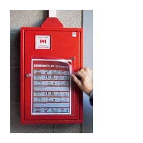 Tarifold Red Kang Self-Adhesive Pockets A4 (Pack of 5) 194770