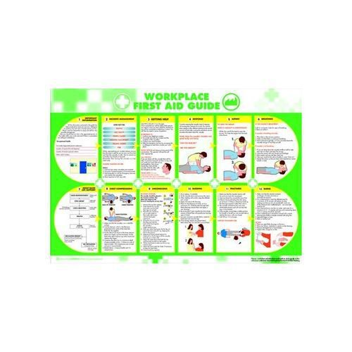 Workplace First Aid Poster 594x420mm