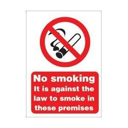 No Smoking Sign A5 SAV
