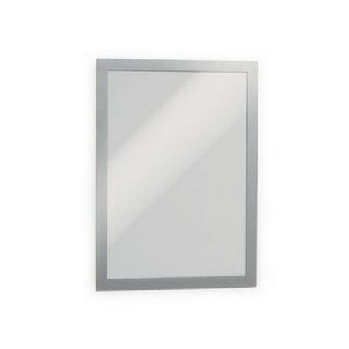 Durable Duraframe Magnetic A4 Silver