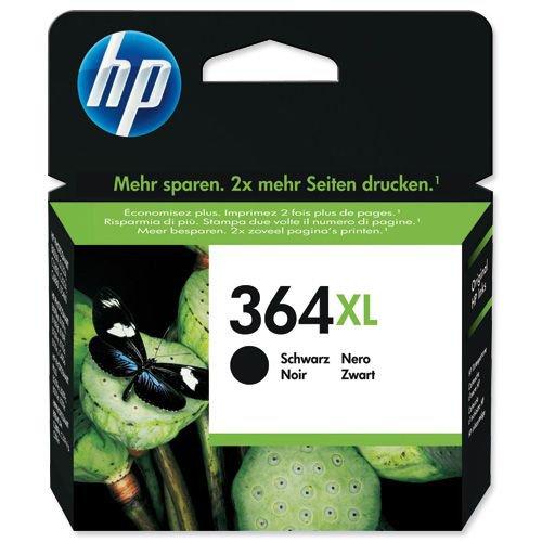 HP 364XL Photo Black High Yield Inkjet (Pack of 1)CB322EE