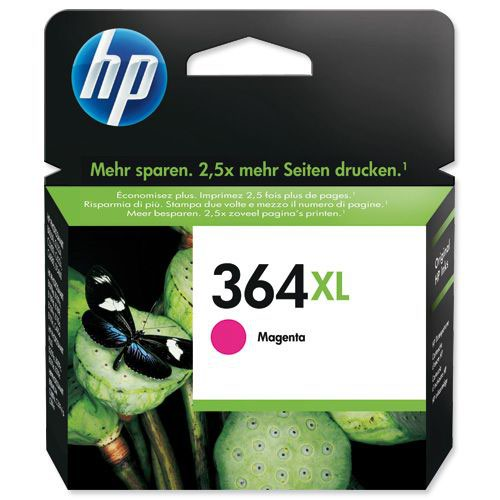 HP 364XL Magenta High Yield Inkjet (Pack of 1)CB324EE