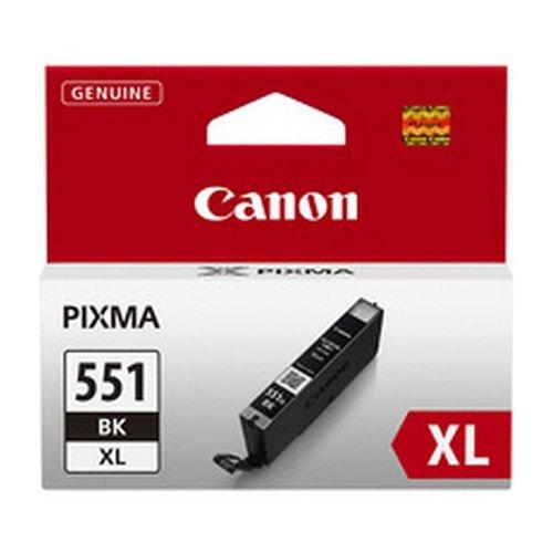 Canon CLI-551BK XL Black Inkjet Cartridge High Yield 6443B001