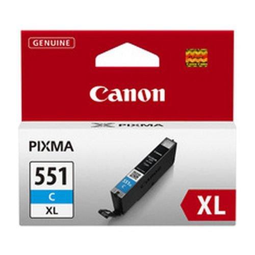 Canon CLI-551C XL Cyan Inkjet Cartridge High Yield 6444B001