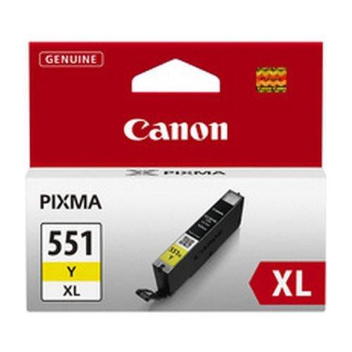 Canon CLI-551Y XL Yellow Inkjet Cartridge High Yield 6446B001