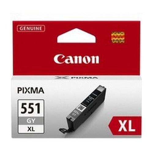 Canon CLI-551GY XL Grey Inkjet Cartridge High Yield 6447B001
