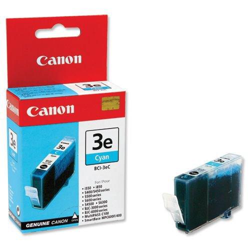 Image for Canon BCI-3eC Cyan Inkjet Cartridge 4480A002