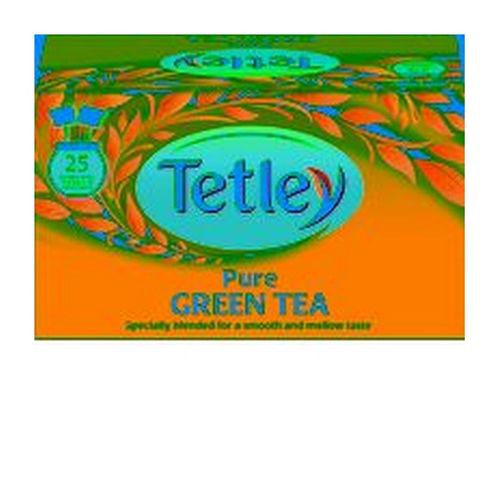 Tetley Draw String Tea Bag Pure Green Pack 25