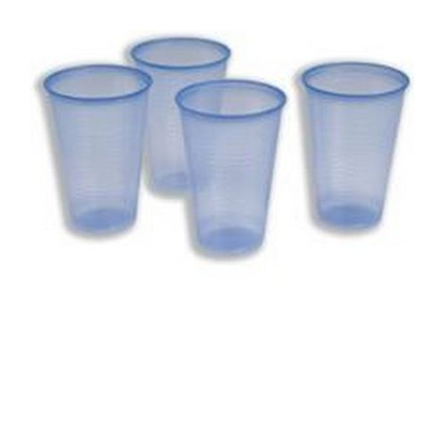Robinson Young Water Cups Plastic Non-vending for Cold Drinks 7oz Blue Pack 1000