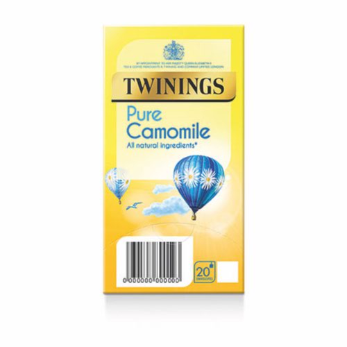 Twinings Pure Camomile Envelopes Quantity 12x 20 Bags