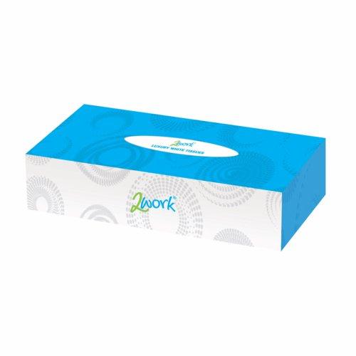 Maxima Facial Tissue Cream Box 100 Tissues Per Box Pack 36