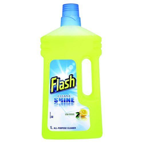 Flash All Purpose Cleaner For Washable Surfaces 1 Litre Lemon Fragrance