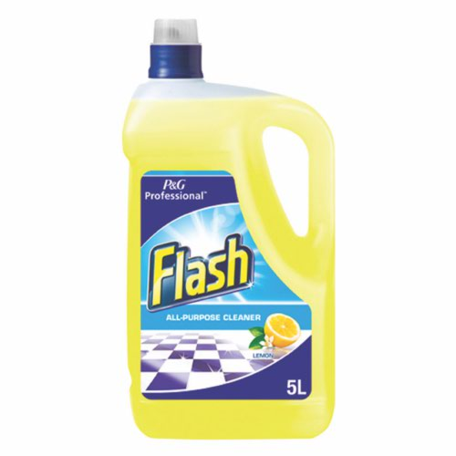 Flash All Purpose Cleaner for Washable Surfaces 5 Litres Lemon Fragrance