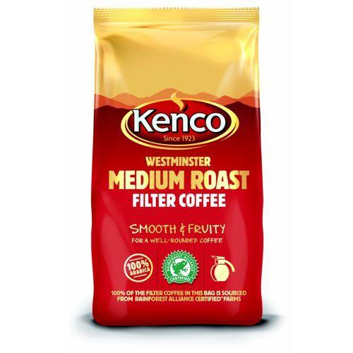 Kenco Westminster Cafetiere Filter Coffee 1 kg Bag